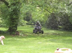Dad on quad 2